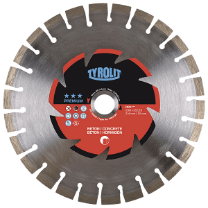 PREMIUM - Dry cutting saw blade DCC - concrete