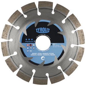 PREMIUM - Dry cutting saw blade DCH - hard stone