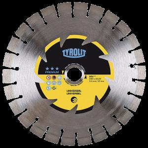 PREMIUM - Dry cutting saw blade DCU - universal