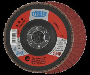 PREMIUM Flap disc - CERAMIC - inox - full