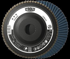 PREMIUM Flap disc - LONGLIFE - steel - full