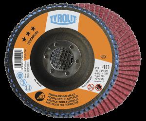 PREMIUM Flap disc - nonferrous - full