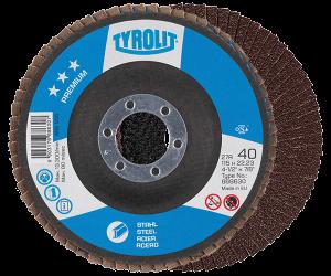 PREMIUM Flap disc - steel - full